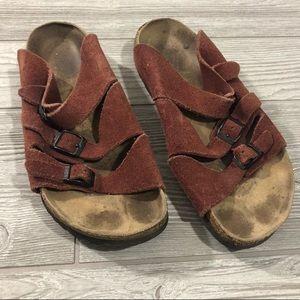 Birkenstock • Three Strap Slide On Sandal